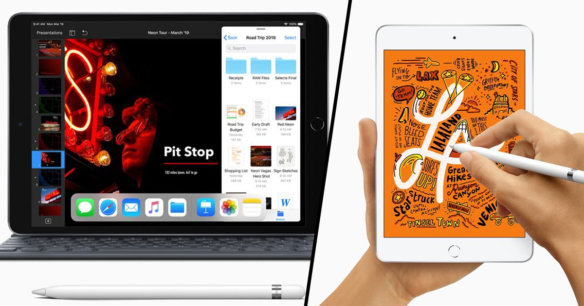 Apple releases iPad Mini 2019 Models with Apple Pencil support