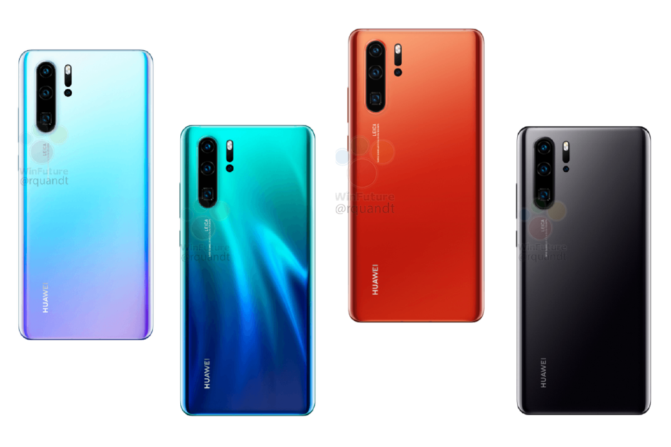 Huawei P30 and P30 Pro full specs revealed in the latest leak
