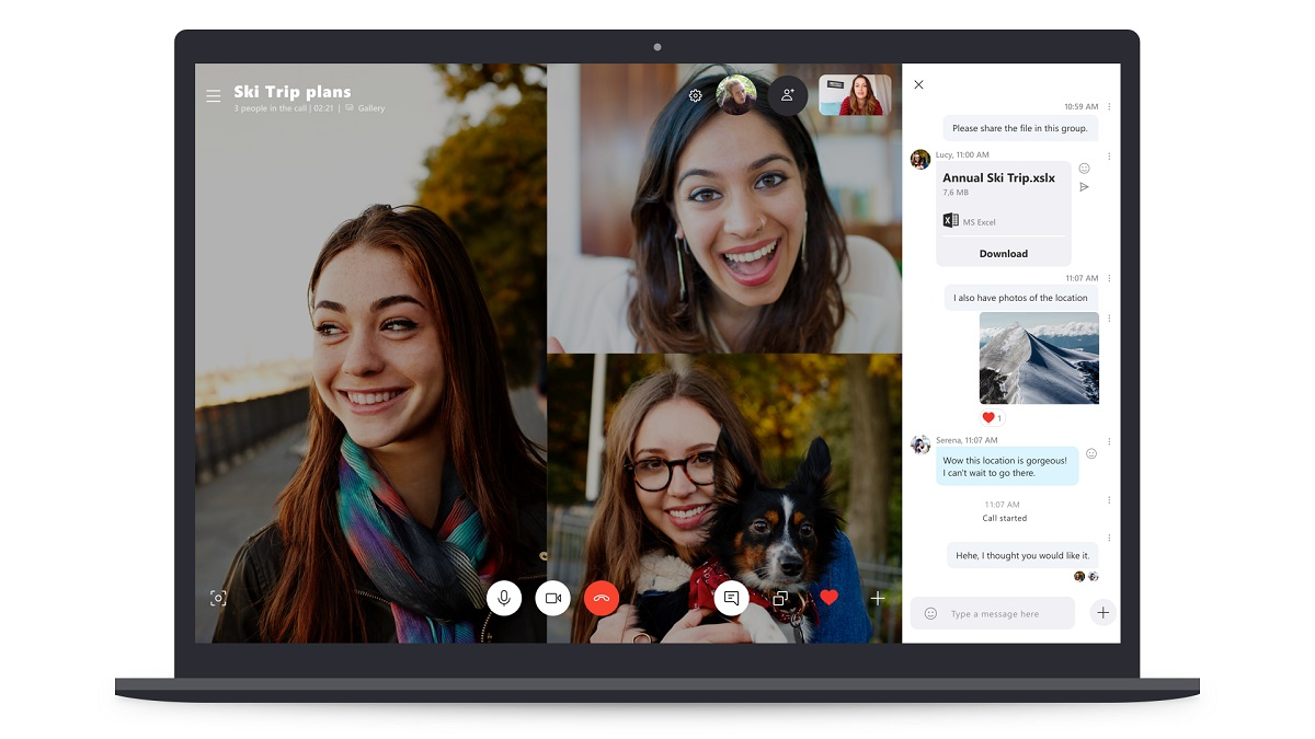 Microsoft currently testing Skype group video calling feature for up to 50 people
